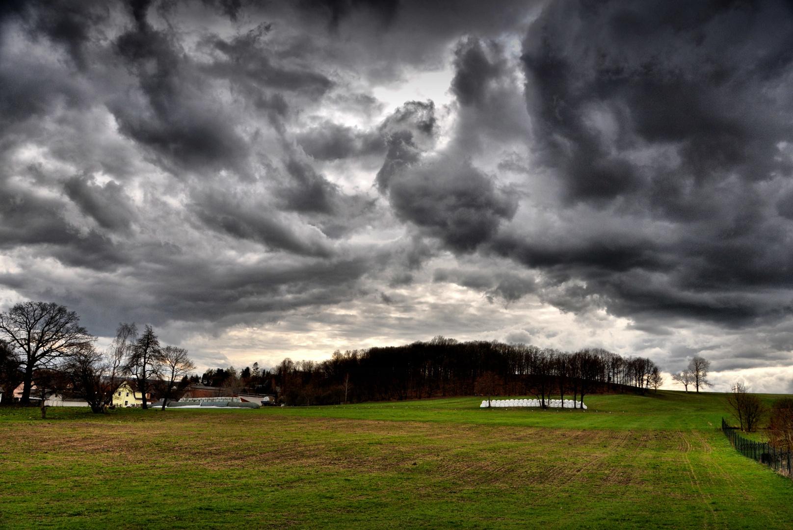 Vor dem Unwetter