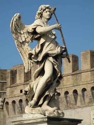 Vor der Engelsburg (Rom)