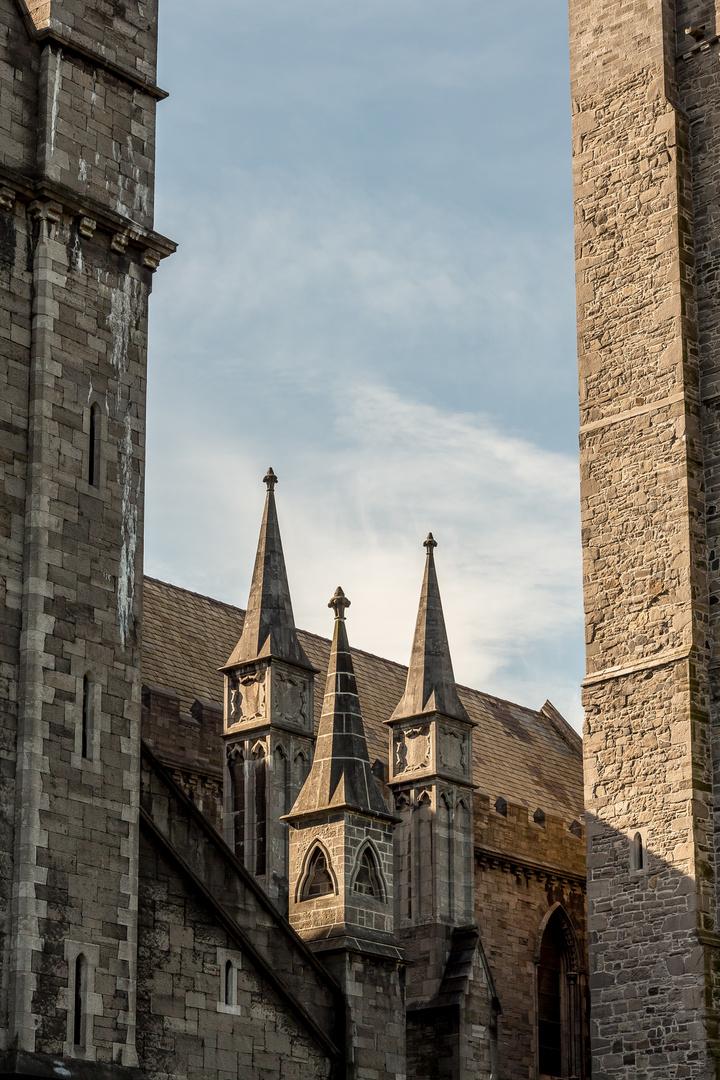Vor der St. Patrick's Cathedral (I)