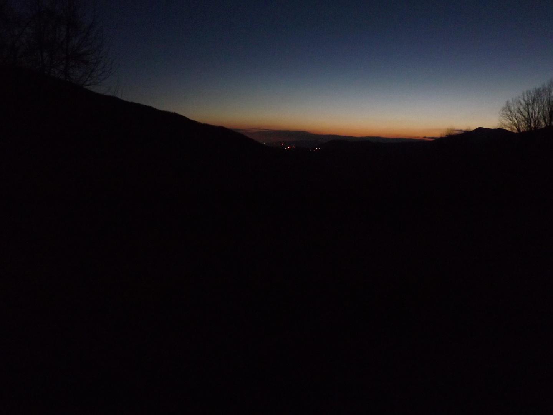 Vor Sonnenaufgang im Smoky Mountains Nationalpark