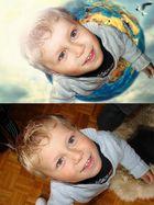 Vor- und nach Bearbeitung