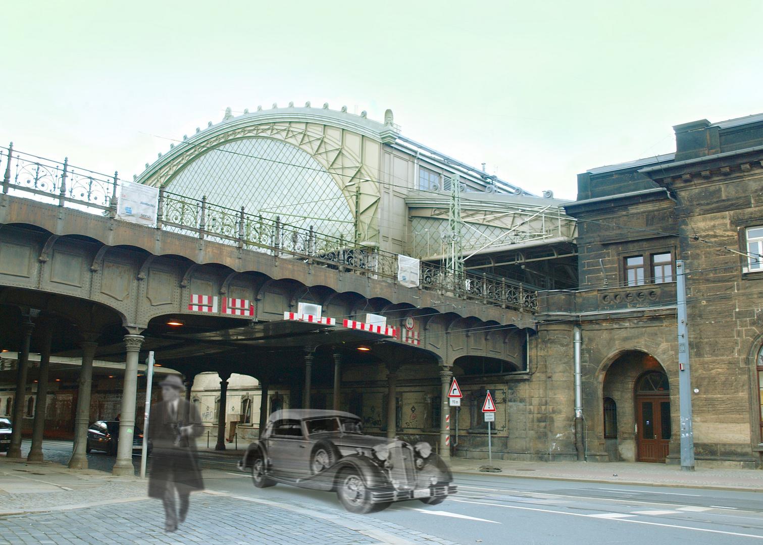 vor vielen jahren in Dresden