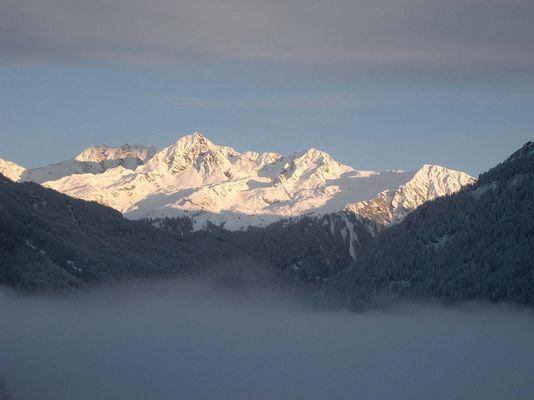 Vorarlberg im Nebel