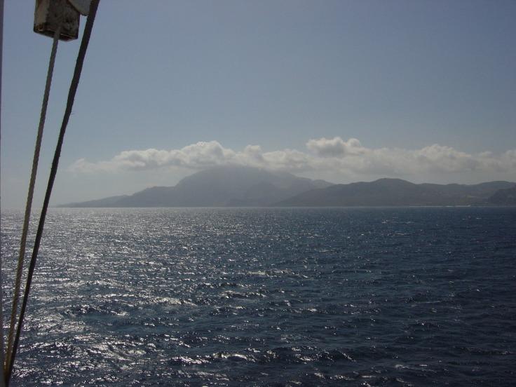 Vorbei an der marokkanischen Küste bei Ceuta
