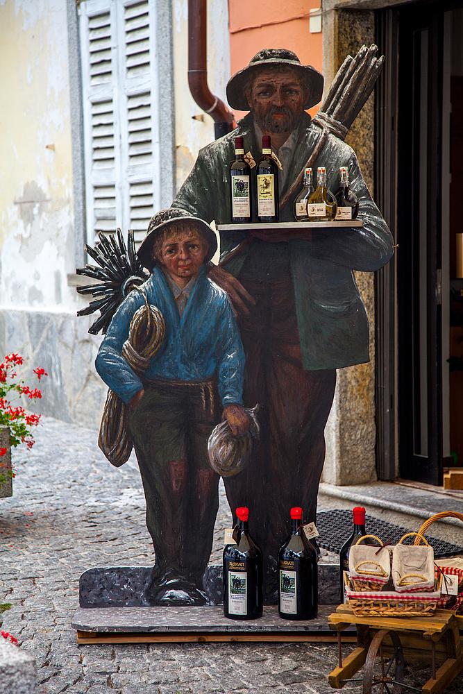 Vorbereitung in Santa Maria Maggiore auf den Tag der Schornsteinfeger