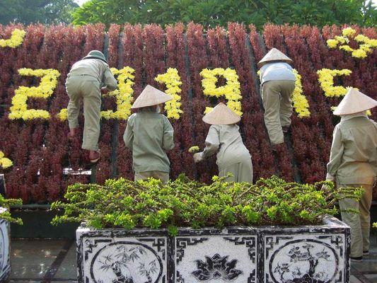 Vorbereitungen für den Nationalfeiertag am 2. September - Hanoi