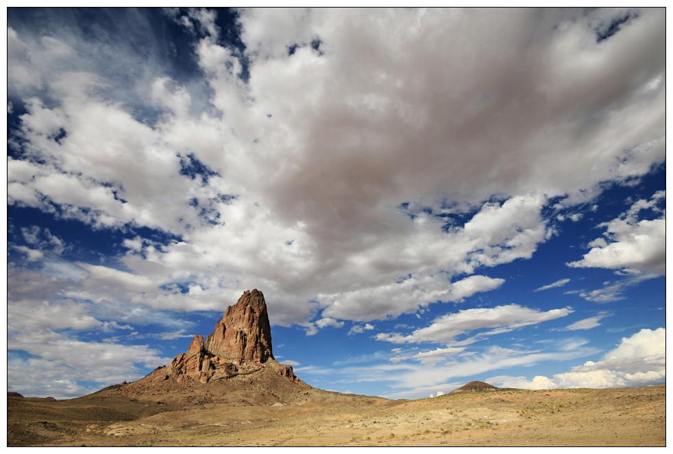 Vorbote .. Monument Valley ist nicht mehr weit