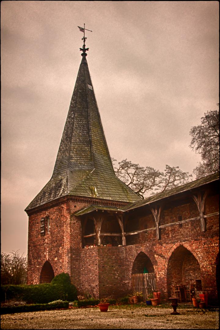 Vorburg von Schloss Haag in Geldern