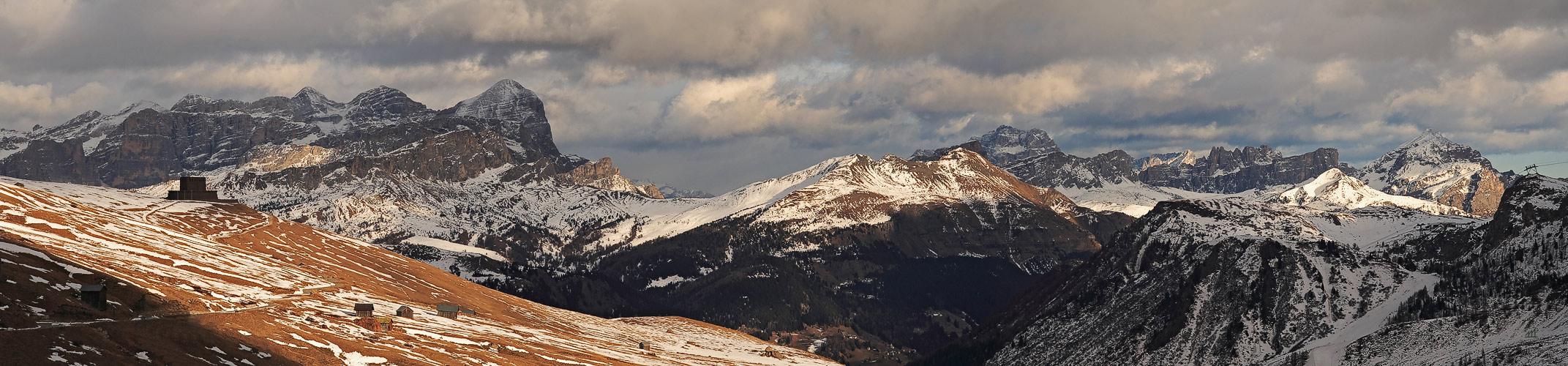 Vorfrühling in den Dolomiten