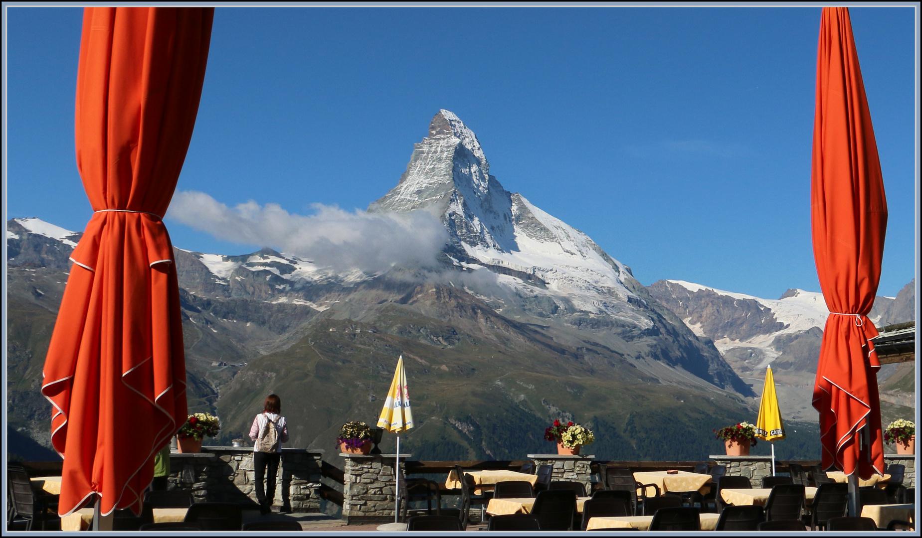 Vorhang auf fürs Matterhorn !