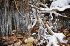 Vorhang aus Eis