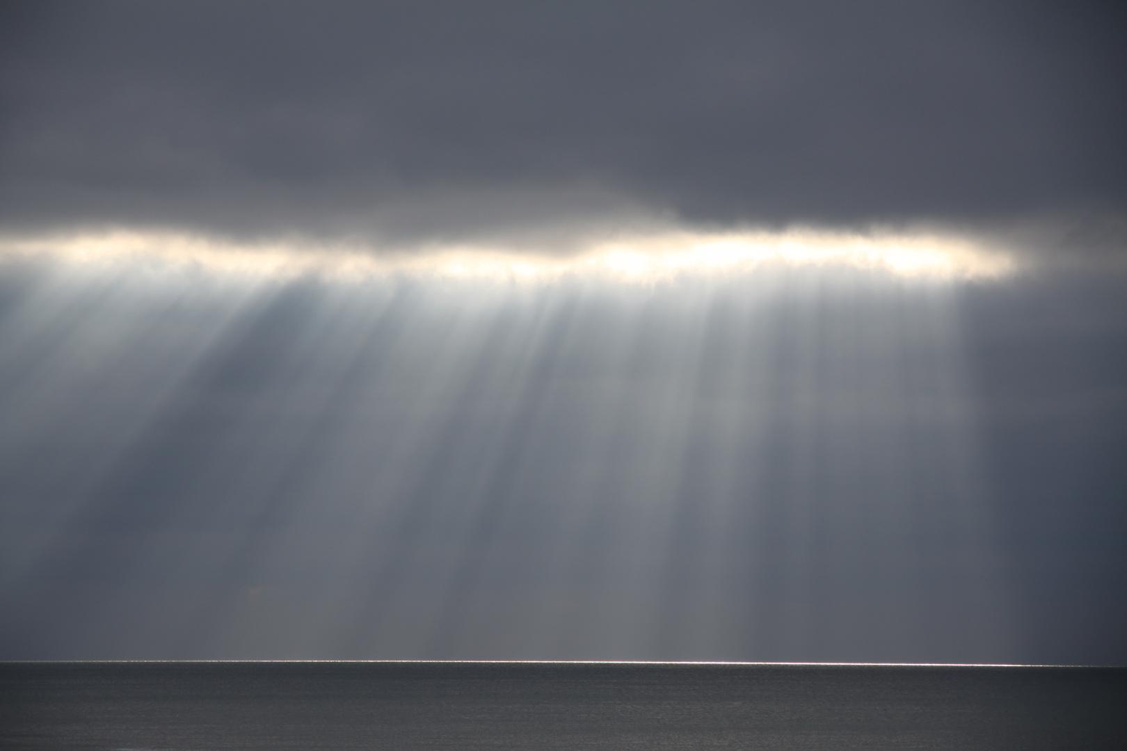 Vorhang aus Licht