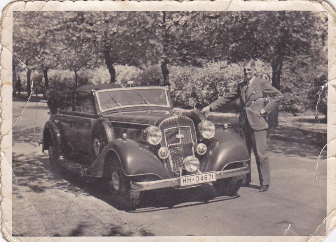 Vorkriegs-Cabrio von Horch
