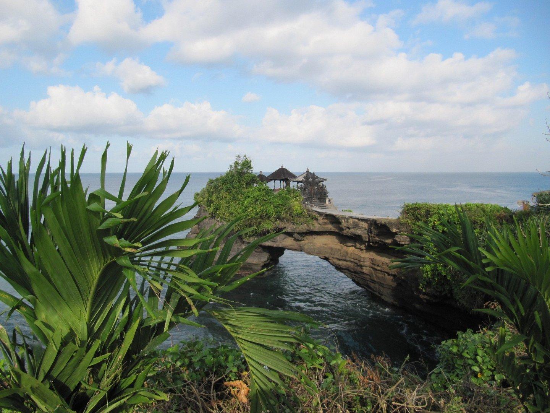 Vorläufer zum Wassertempel Tanah Lot auf Bali