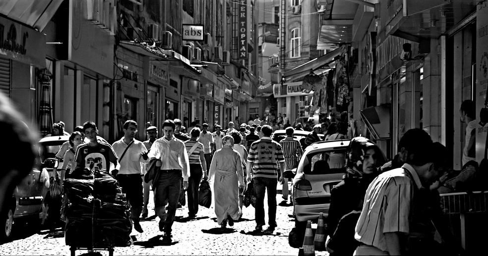 Vormarkt in Istanbul