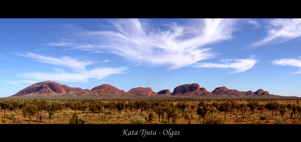 Vormittags am Kata Tjuta Viewpoint