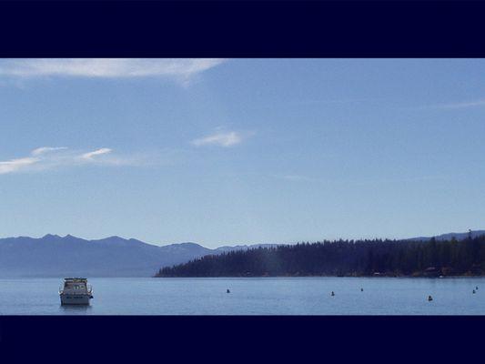 Vormittags am Lake Tahoe