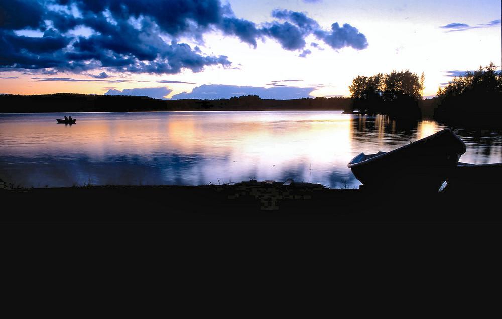 Vormitternachtsstimmung in Südfinnland