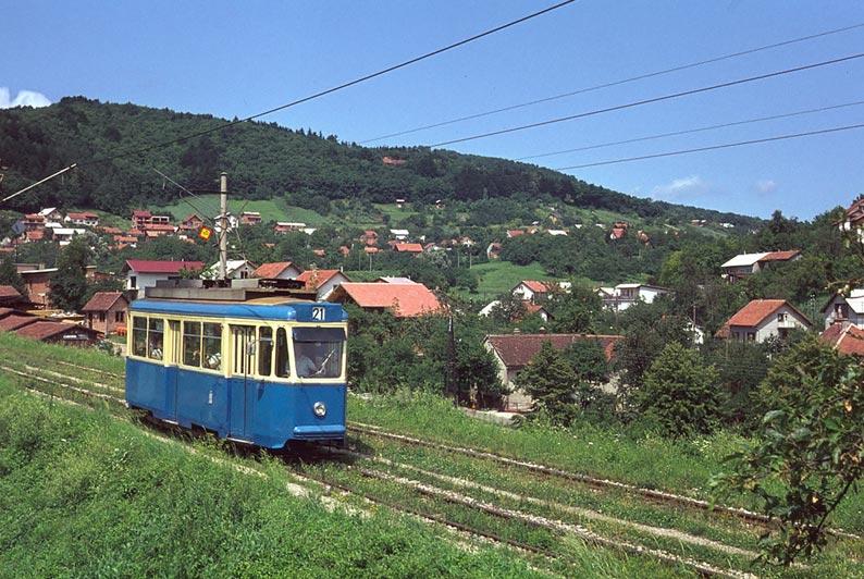 Vorortsbahn, Zagreb 1975
