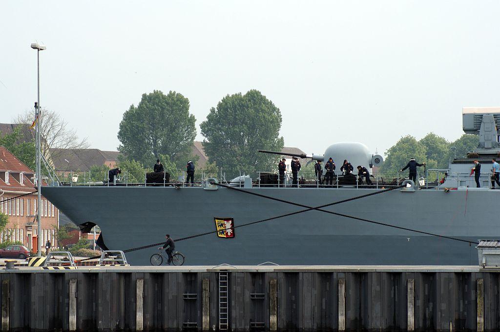 Vorschiff F216 Fregatte SCHLESWIG-HOLSTEIN