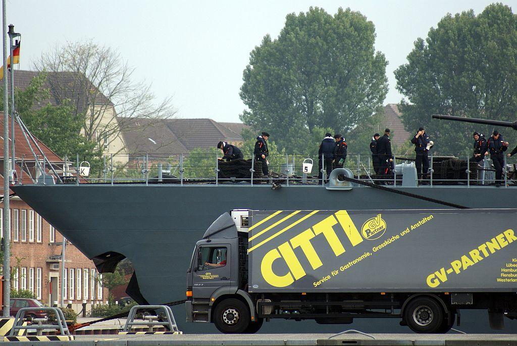 Vorschiff F216 Fregatte SCHLESWIG-HOLSTEIN - II