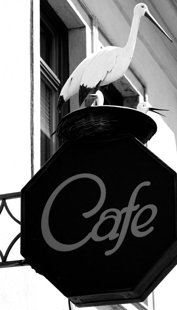 Vorsicht beim Cafetrinken
