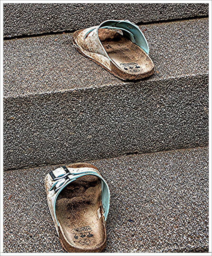 Vorsicht, Stufen!