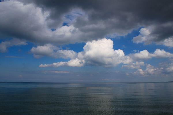 vorüberziehende Wolken