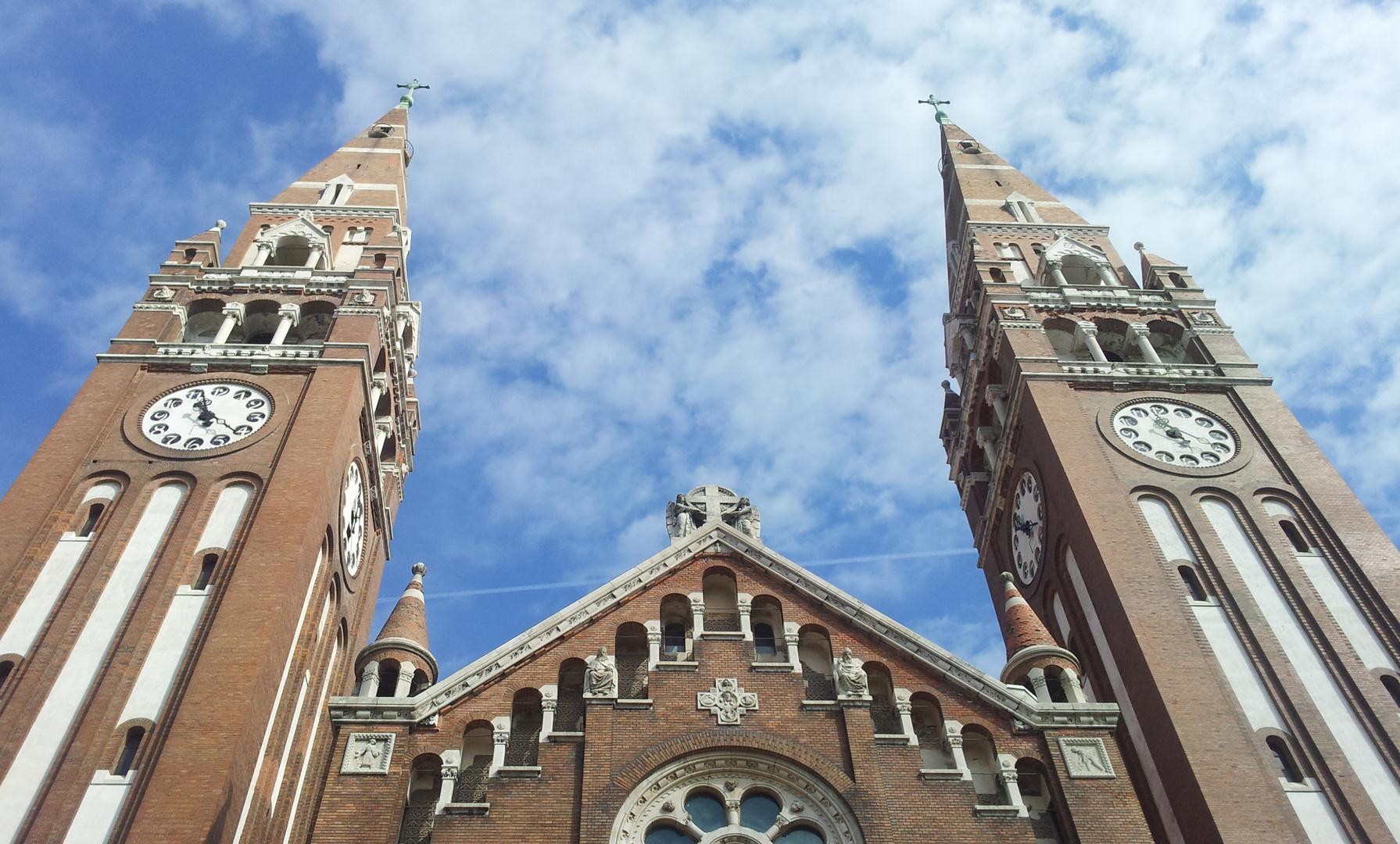 ~Votiv Kirche in Szeged ~