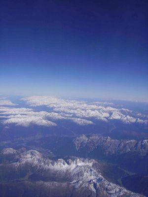 voyage au dessus des montagnes...
