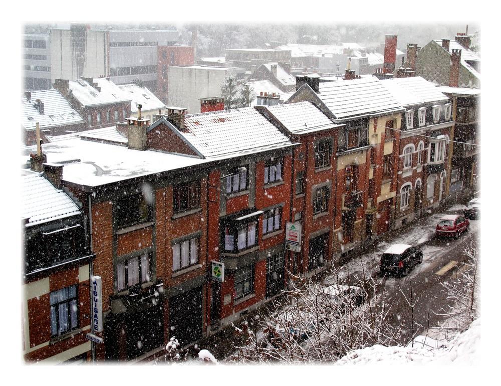 vraie neige !