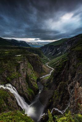 Vøringsfossen im Eidfjord