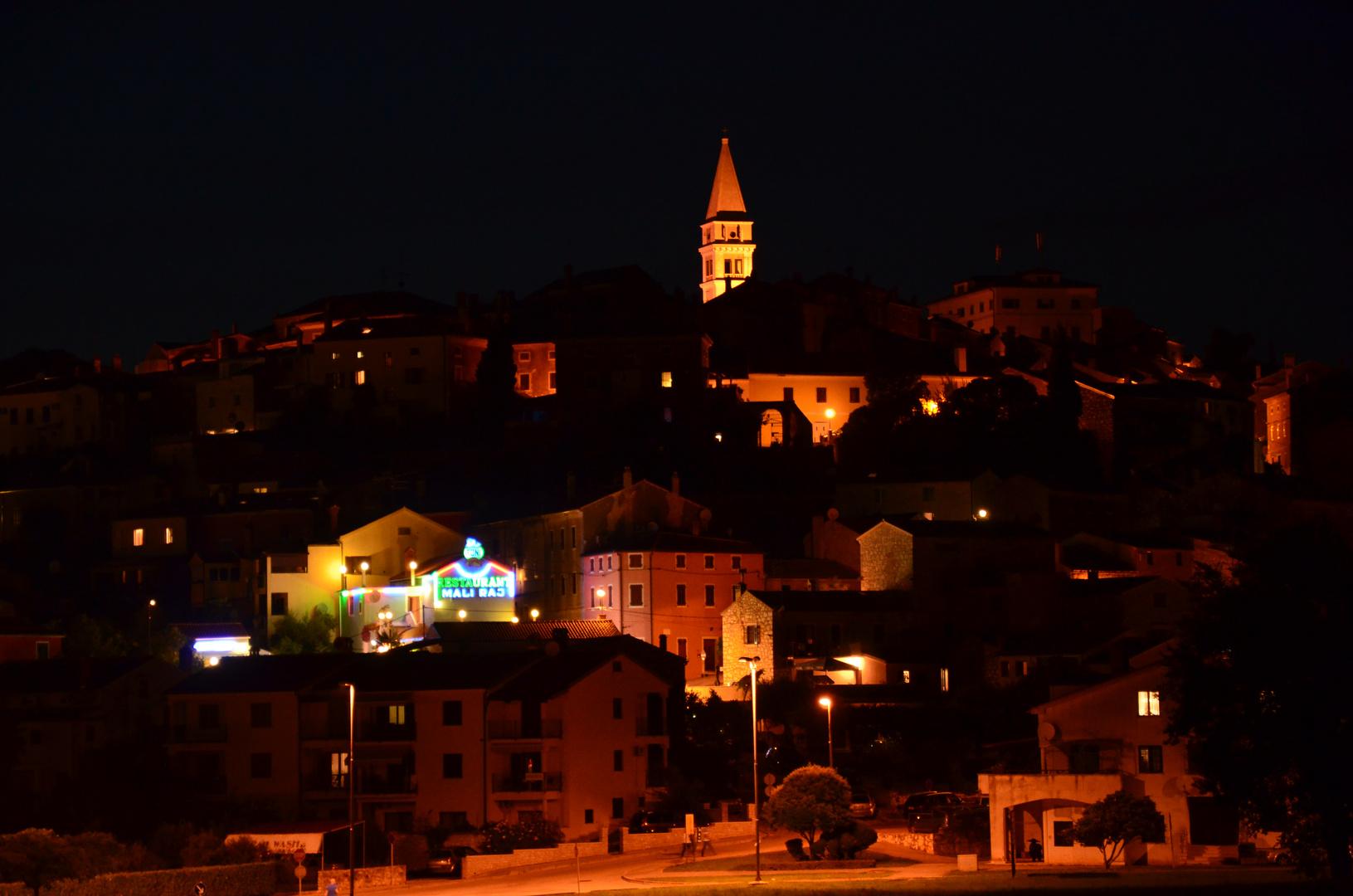 Vrsar by night