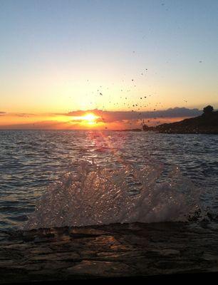Vrsar - Sonnenuntergang