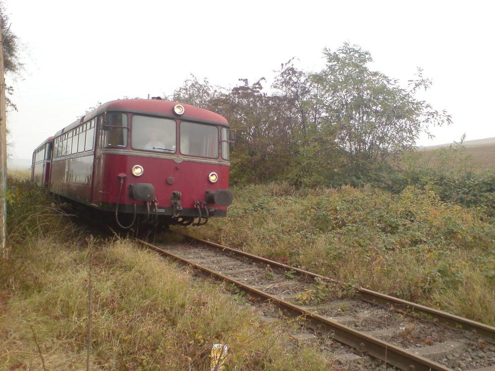 VT 98 im Herbst vor Marnheim