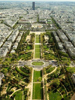 vu de la tour Eiffel 1