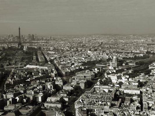 Vu depuis la Tour Montparnasse