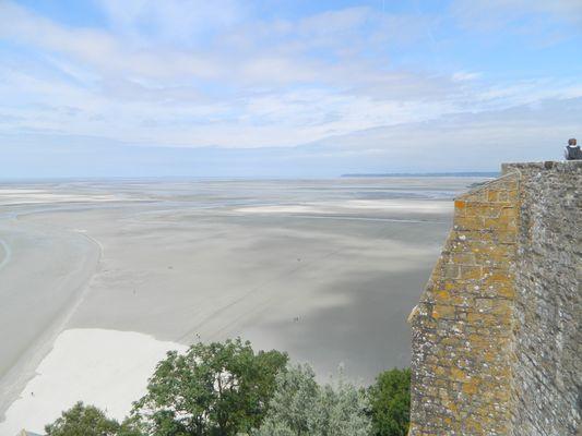 vu du Mont St Michel