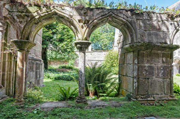 Vue à l'abbaye de Beauport à Paimpol 1