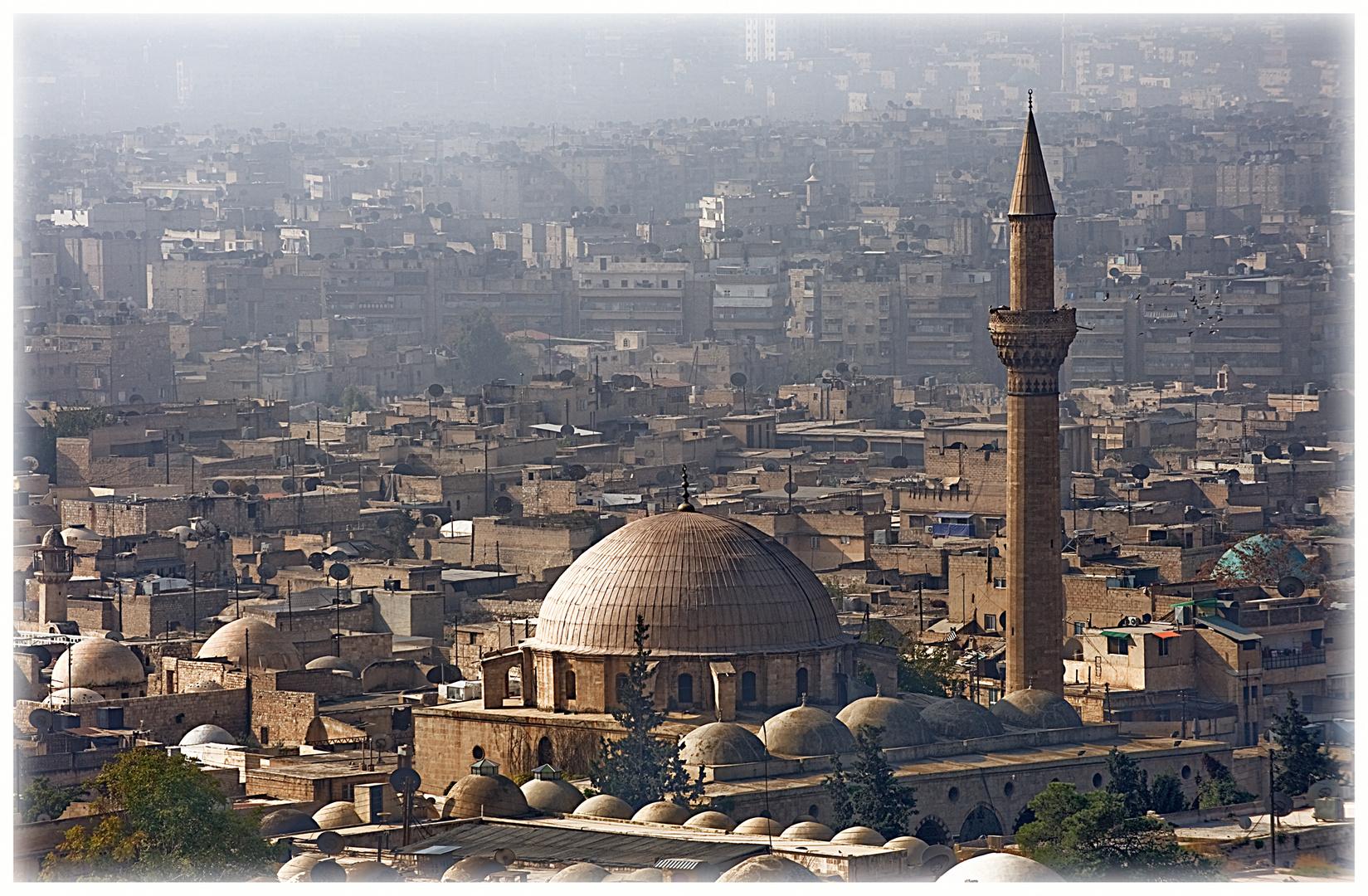 Vue d'Alep depuis la citadelle