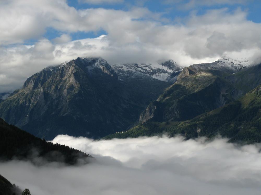 Vue de l'Alpe d'Huez