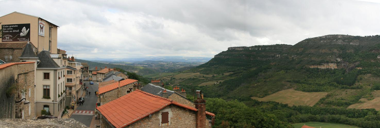 Vue de Roquefort