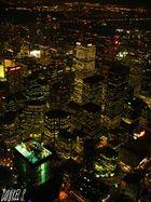 vue depuis la tour du CN à Toronto