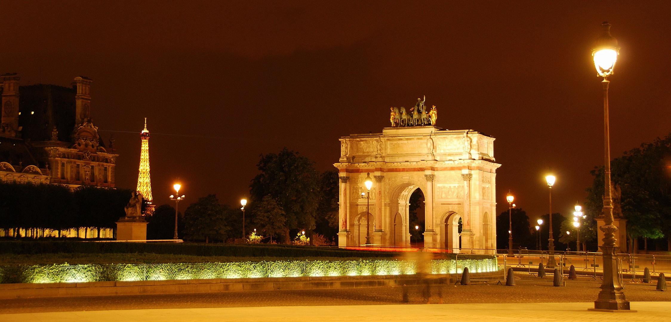 Vue depuis le Louvre