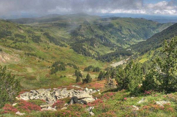 Vue depuis le Tarbésou - Ariège - France