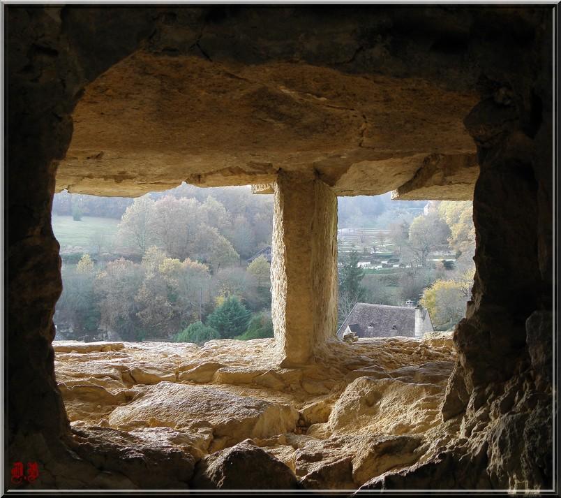 Vue du Château de Castelnaud:
