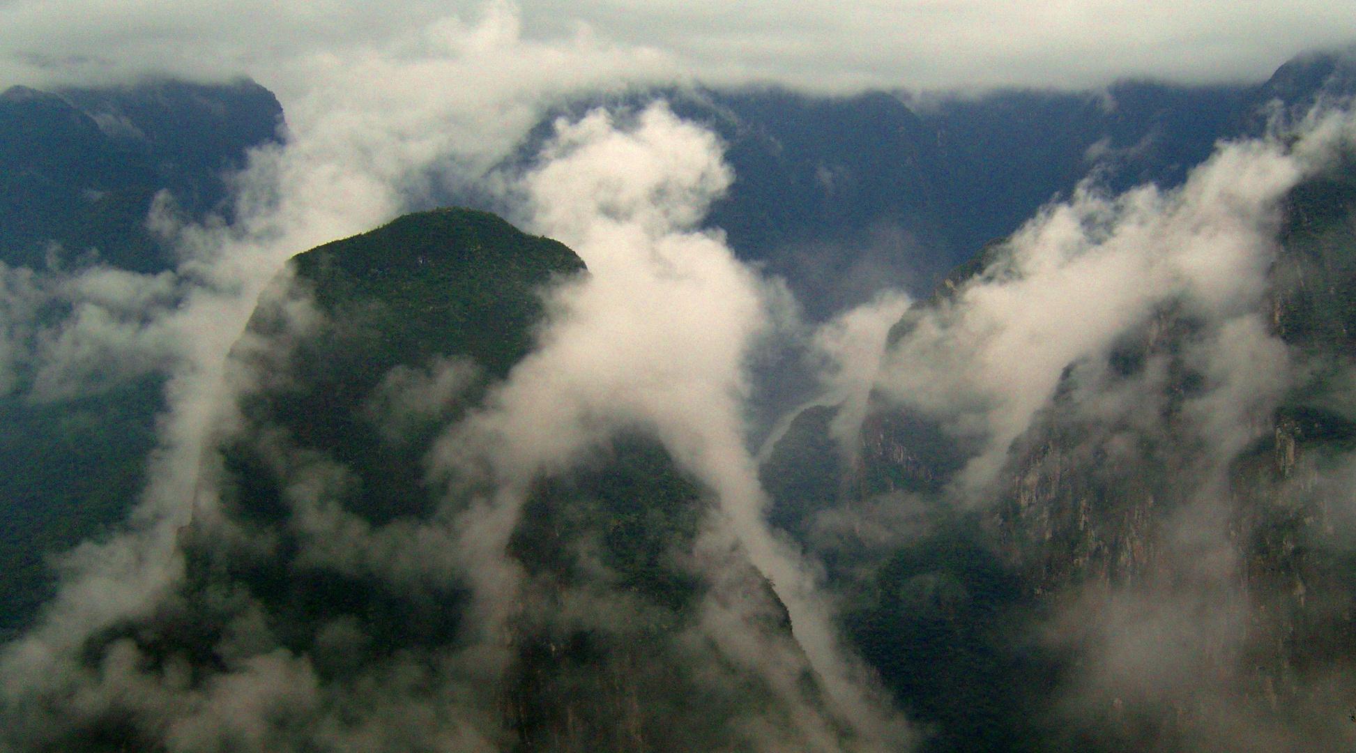 Vue du Machu Picchu, Pérou