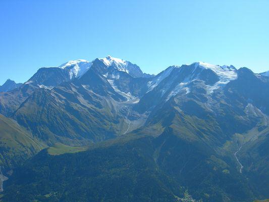 Vue du Mont Joly