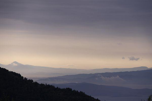 Vue du mont Pelion