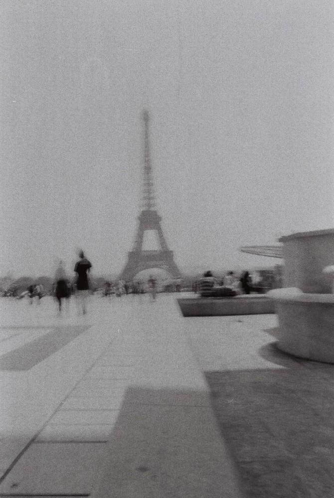 Vue du Trocadéro